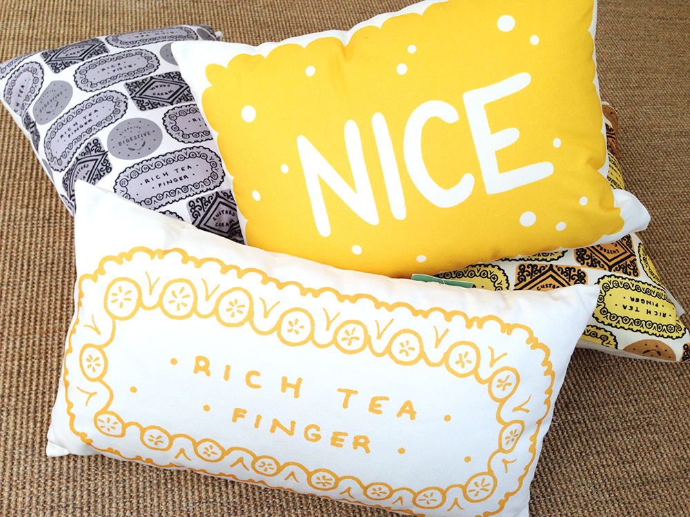 Nikki McWilliams - Biscuit Cushions