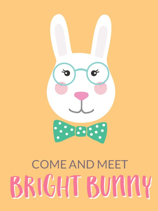 Come and Meet Bright Bunny