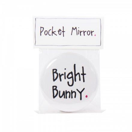 Bright Bunny Handmade Pocket Mirror