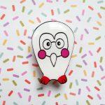 Bright Owl Handmade Brooch