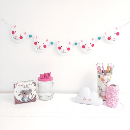 Cat Garland, Nursery Decoration