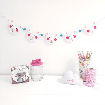 Cat Garland, Nursery Decoration