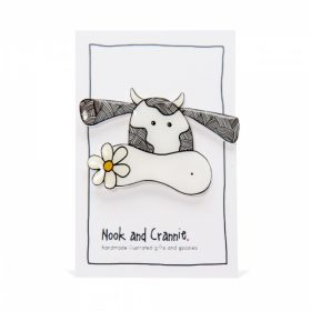 Cute Cow - Handmade Brooch