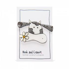 Cute Cow - Handmade Brooch