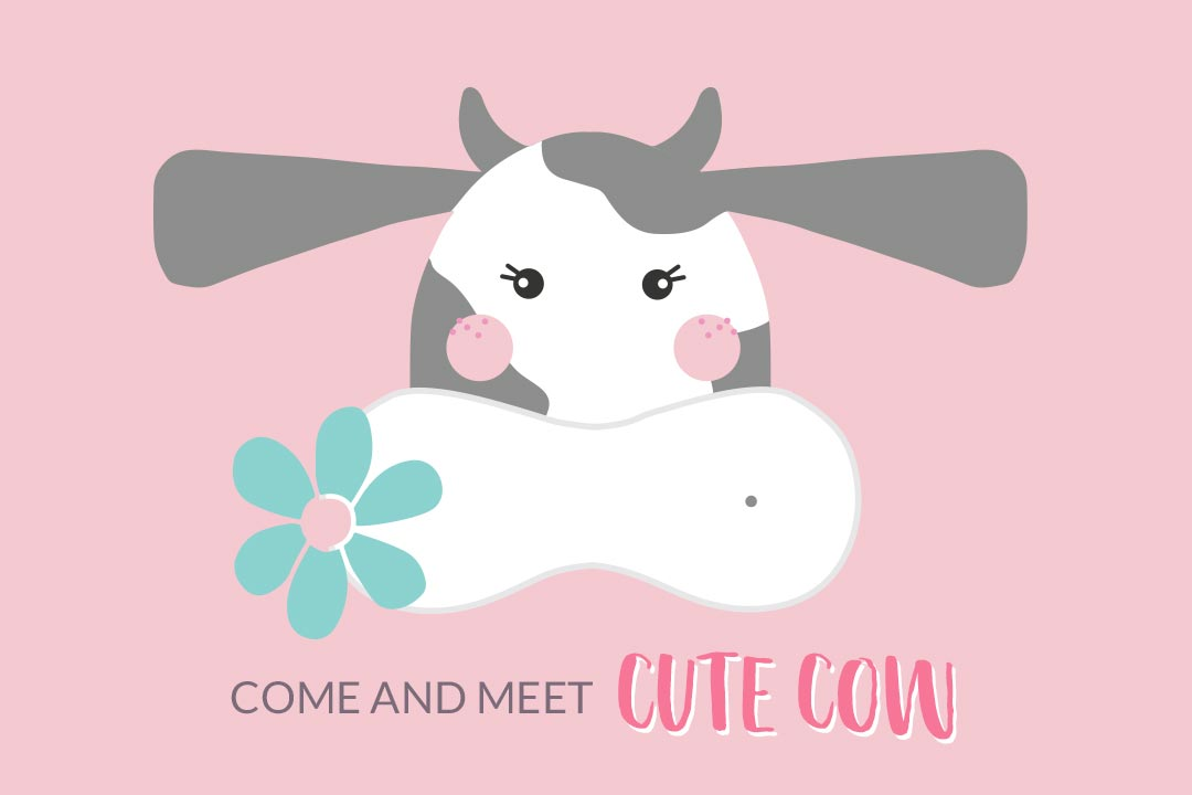 Come and Meet Cute Cow