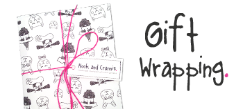 Gift Wrapping available on all orders