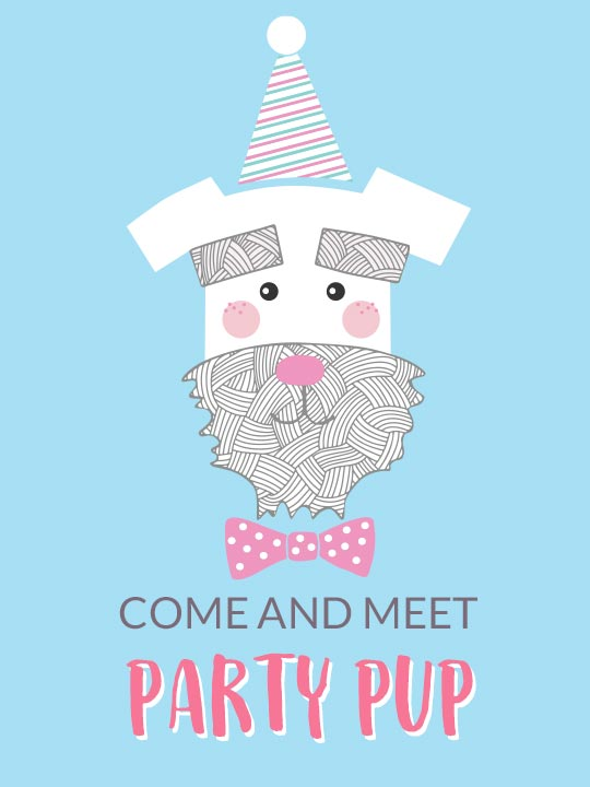 Come and Meet Party Pup