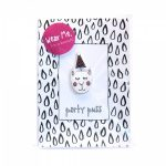 Party Puss Handmade Brooch and Greeting Card