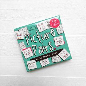 Picture Pairs Memory Card Game