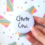 Clever Cow Pocket Mirror