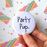Party Pup Pocket Mirror