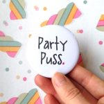 Party Puss Pocket Mirror