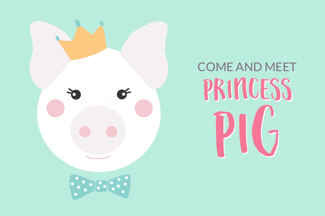 Come and Meet Princess Pig
